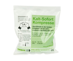 Kälte Pack Dentalkompresse