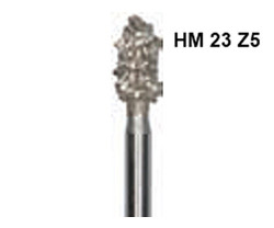 H+M Hartmetallfräsen, Fig. 23 Z5 - 251 Z5